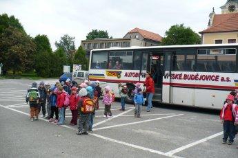 Školní výlet Týn nad Vltavou
