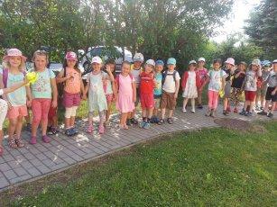 Školní výlet - otáčivé hlediště v Českém Krumlově